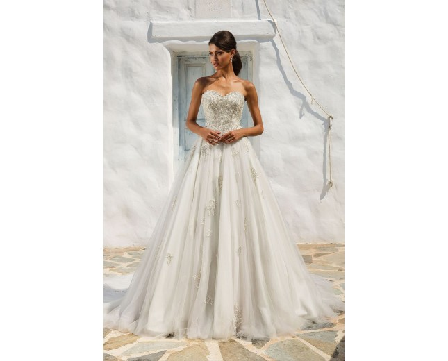 Rochie de mireasa Justin Alexander Beaded Sweetheart Bodice Ball Gown