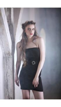 Rochie de seara scurta neagra