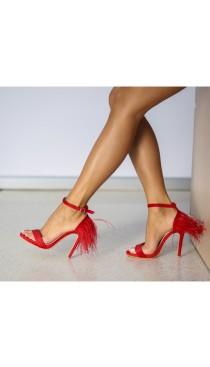Sandale cu toc ocazie